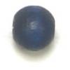 Wooden Bead Round 6mm Blue